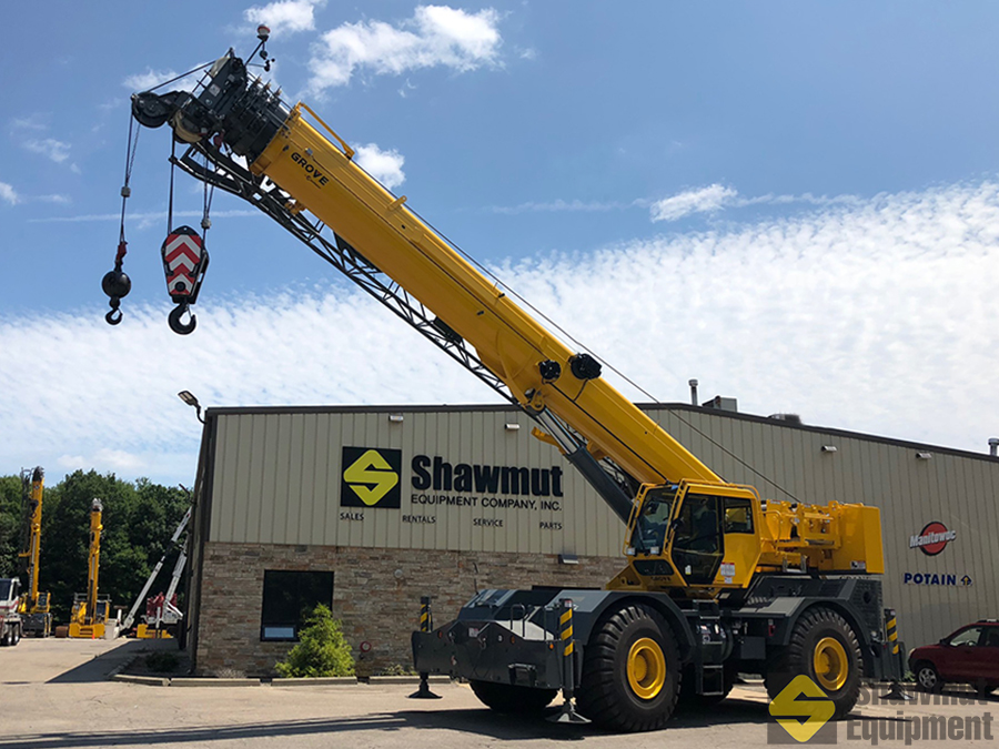 2018 Grove RT770E - 70 Ton Rough Terrain Crane