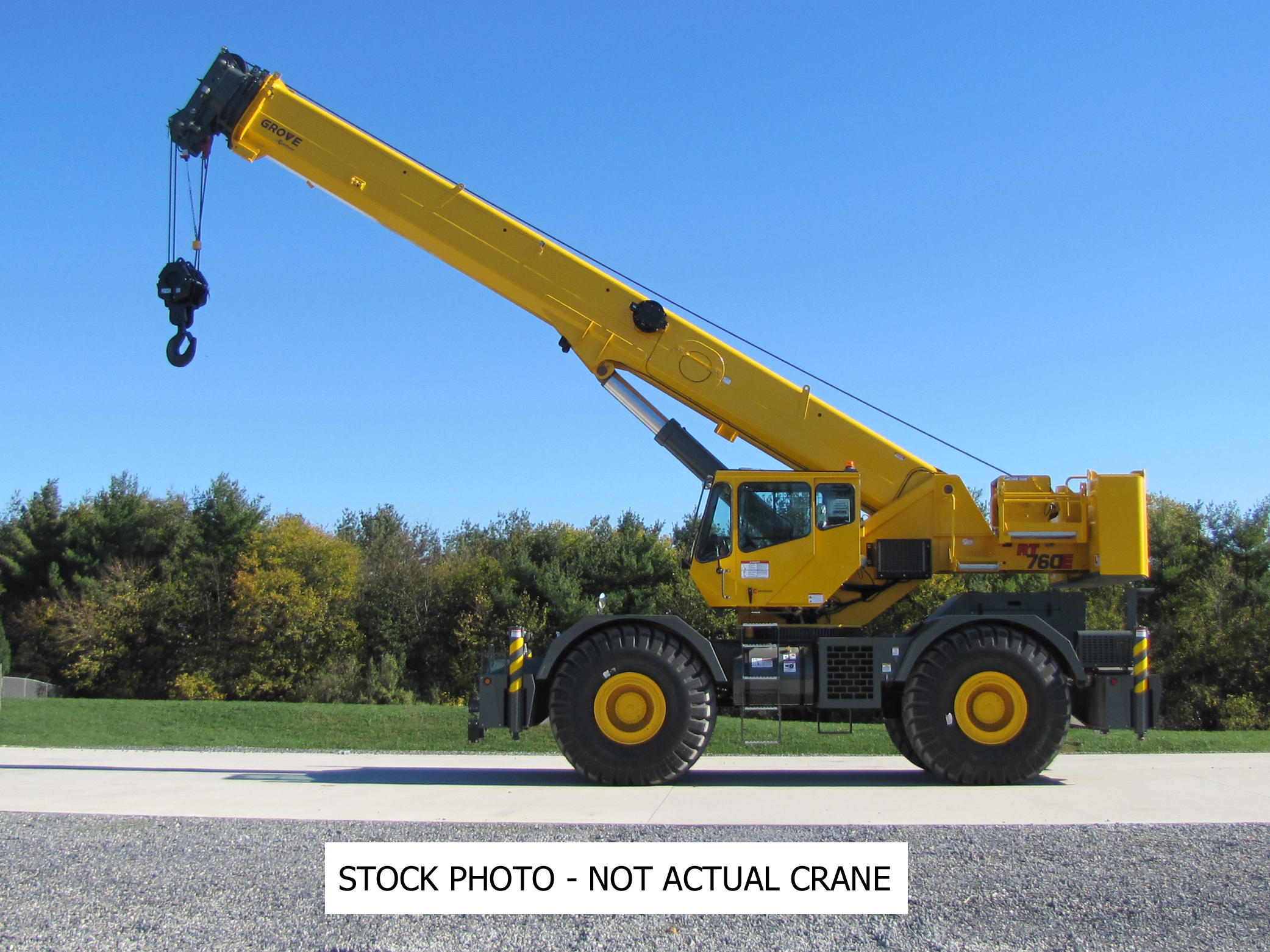 2010 Grove RT760E - 60 Ton Rough Terrain Crane