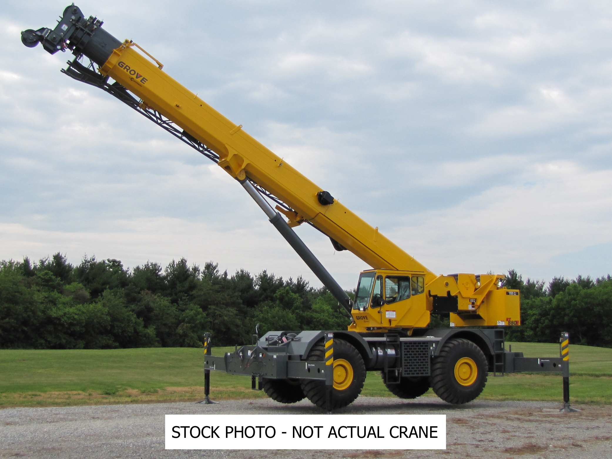 2010 Grove RT880E - 80 Ton Rough Terrain Crane