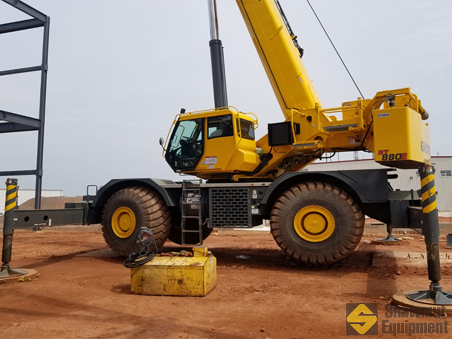 2014 Grove RT880E - 80 Ton Rough Terrain Crane