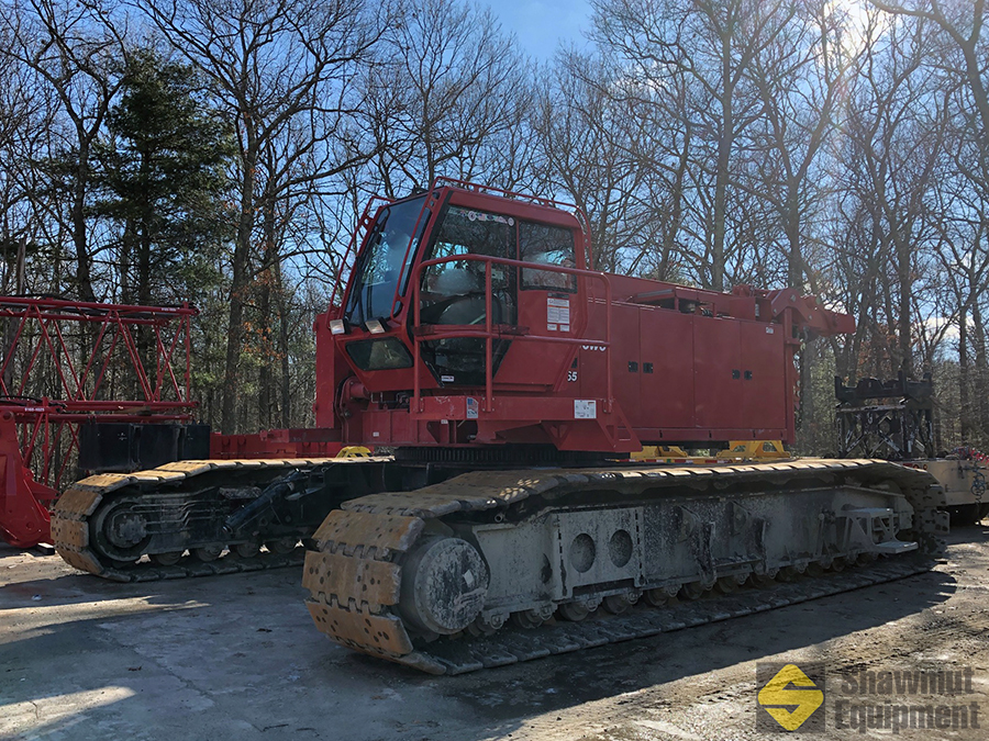 2014 Manitowoc MLC165 - 182 Ton Lattice Boom Crawler Crane