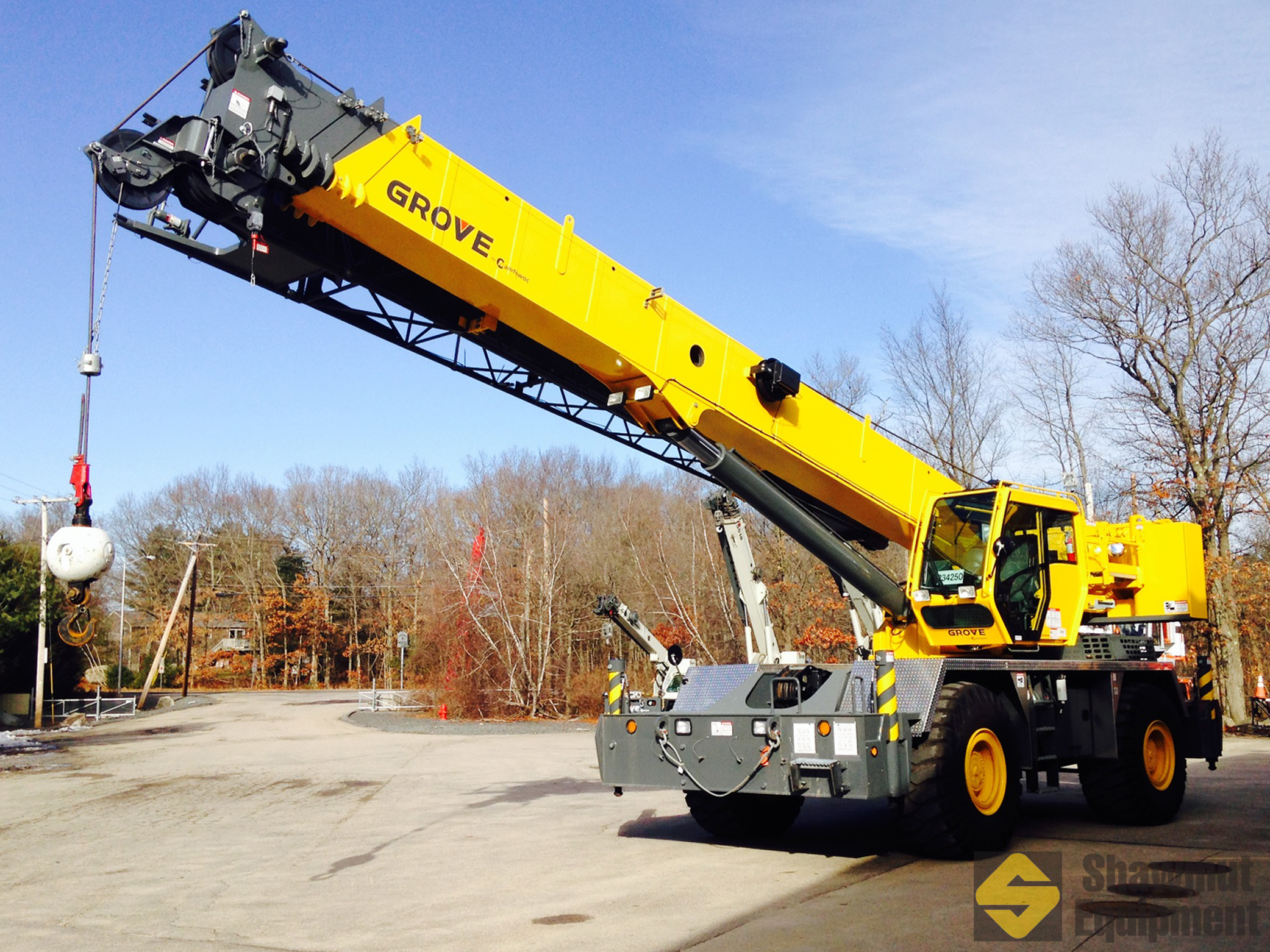 2013 Grove RT650E - 50 Ton Rough Terrain Crane