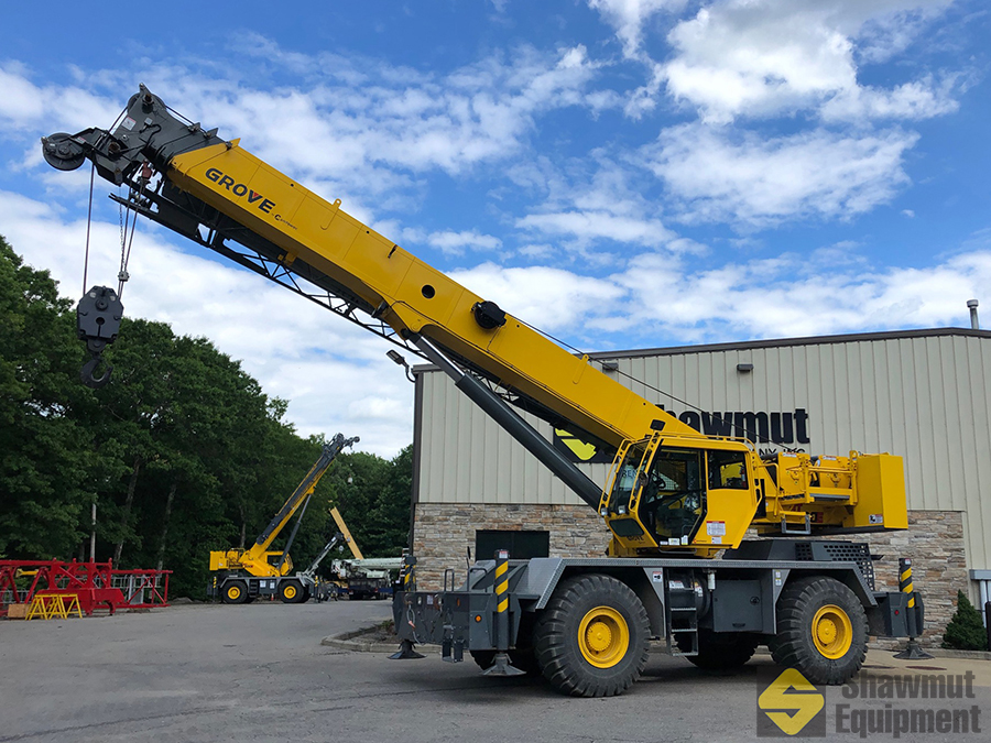 50 Ton Rough Terrain Crane Grove