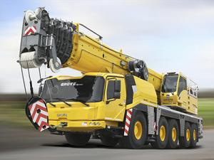 All Terrain Crane - Grove