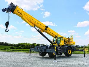 Rough Terrain Crane - Grove