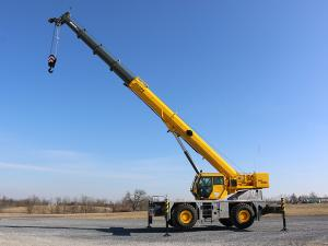 Rough Terrain Crane - Grove GRT655L