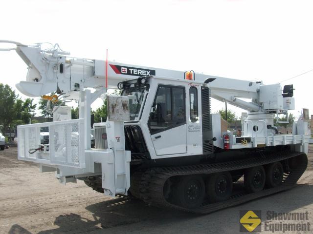 2015 Terex General 65 - 65 Ft Tracked Digger Derrick
