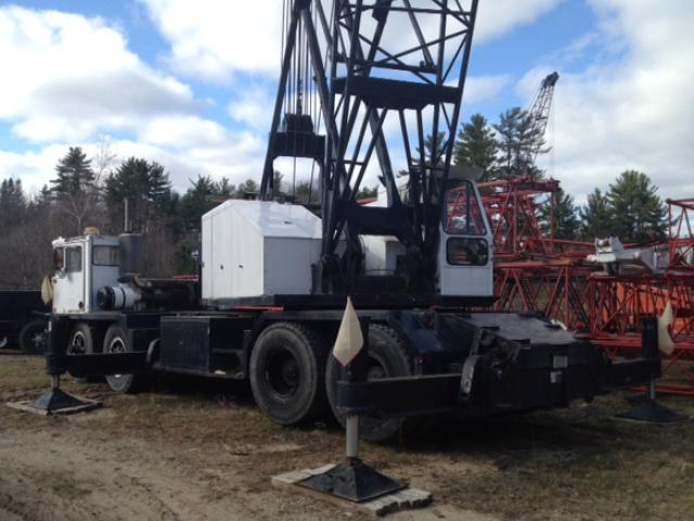 Spare Parts Link Belt Crane : Link belt hc ton conventional truck crane