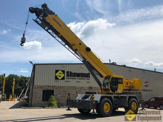 2017 Grove RT650E - 50 Ton Rough Terrain Crane