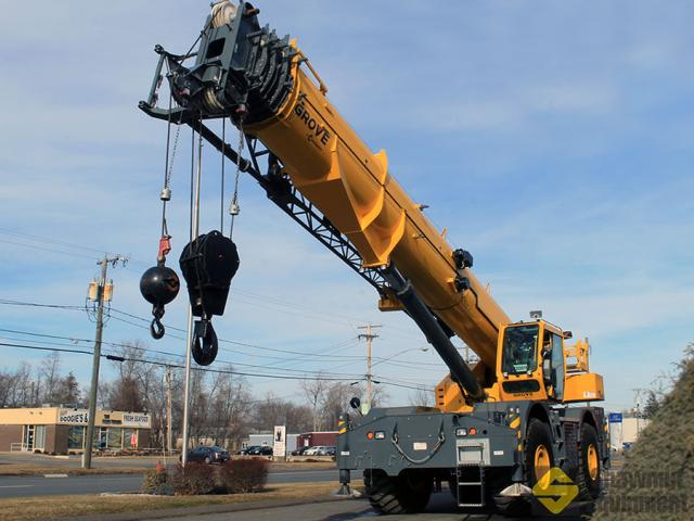 2016 Grove GRT8100 - 100 Ton Rough Terrain Crane