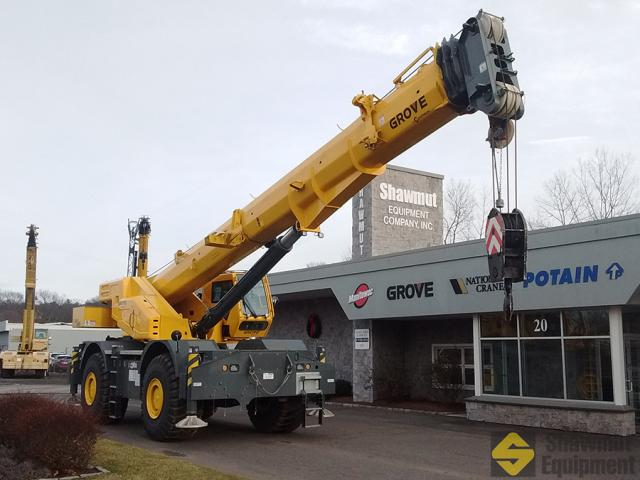 2018 Grove GRT880 - 80 Ton Rough Terrain Crane