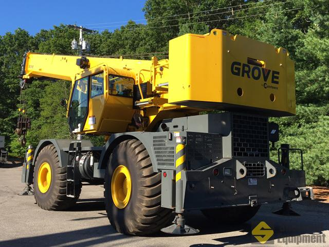 2013 Grove RT765E-2 - 65 Ton Rough Terrain Crane | Shawmut